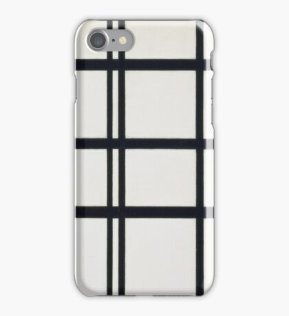 Piet Mondrian, Dutch, Title Composition in Y iPhone Case/Skin