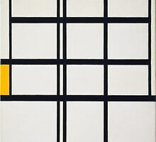 Piet Mondrian, Dutch, Title Composition in Y by Adam Asar