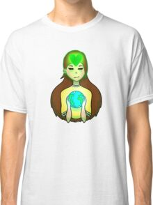 Mother Earth Green Heart Classic T-Shirt