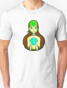 Mother Earth Green Heart T-Shirt