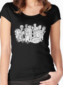 Young Lovecraft  Women's Fitted Scoop T-Shirt