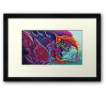 CS:GO Hyperbeast high definition resolution Framed Print