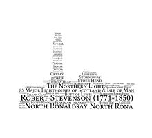 Word Cloud Lighthouses of Scotland & Isle of Man by youmeus