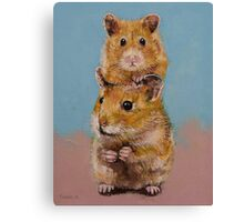 Hamsters Canvas Print