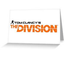 tom clancy's the division Greeting Card