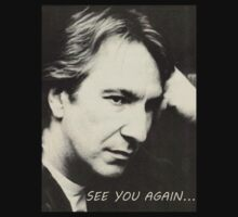 Severus Snape Alan Rickman See you again by believeit