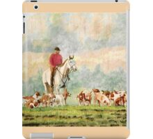 Fox Hunt iPad Case/Skin