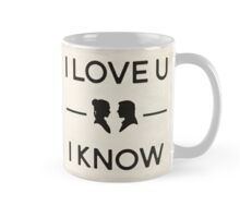 Star Wars - I Love You, I Know (Black) Mug