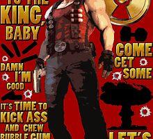 Duke Nukem by red-leaf