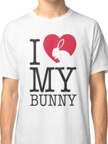 I love my bunny! Classic T-Shirt