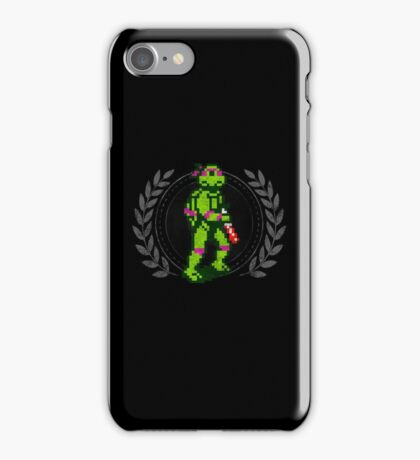 Donatello - Sprite Badge iPhone Case/Skin