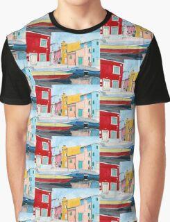 Burano Italy Graphic T-Shirt