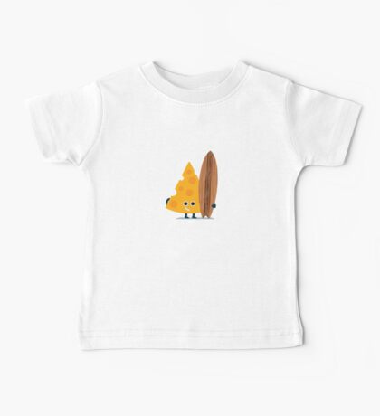 Character Building - Cheeseboarder Baby Tee