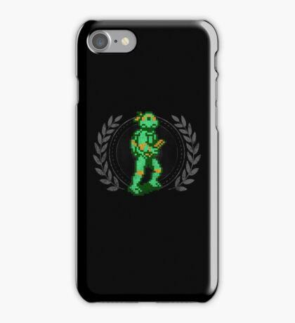 Michelangelo - Sprite Badge iPhone Case/Skin