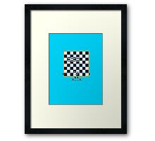 Character Building - Chessboarder Framed Print