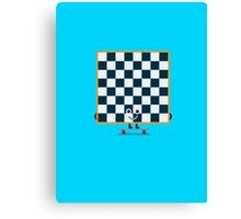 Character Building - Chessboarder Canvas Print
