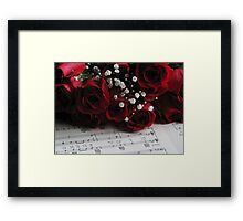 Afternoon Melody Framed Print