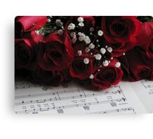 Afternoon Melody Canvas Print