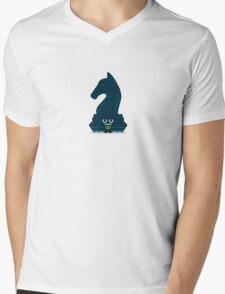 Character Building - Chessboarder Mens V-Neck T-Shirt