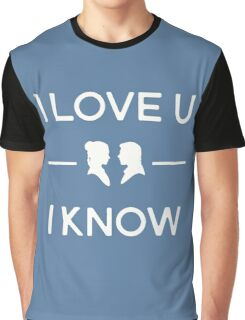 Star Wars - I Love You, I Know (color) Graphic T-Shirt