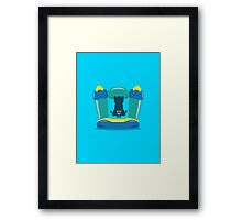 Character Building - Bouncy Castle Framed Print