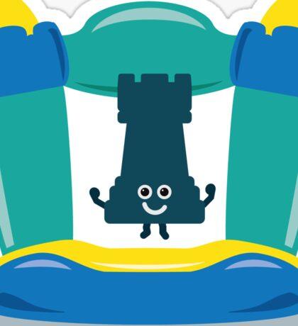Character Building - Bouncy Castle Sticker