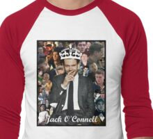 Jack O'Connell Collage Men's Baseball ¾ T-Shirt