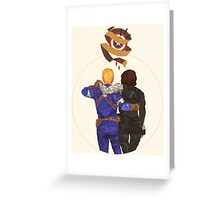 Until The End of The Line  Greeting Card