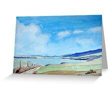 Pembroke Coast by Nick Clark Greeting Card
