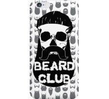 Beard Club iPhone Case/Skin