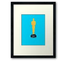 Character Building - Oscar Noms Framed Print