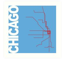Chicago Collection Art Print