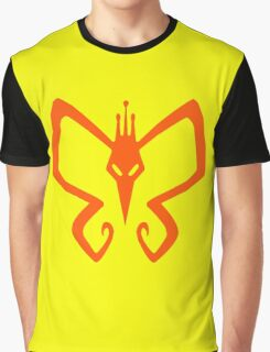 The Venture Brothers - Monarch Logo - Orange Graphic T-Shirt
