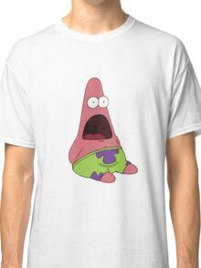 Suprised Patrick Spongebob Classic T-Shirt