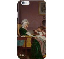 LOUIS EMILE ADAN The First Lesson iPhone Case/Skin