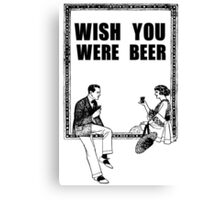 Awesome Drunk Party Time Beer Vintage Canvas Print