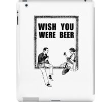 Awesome Drunk Party Time Beer Vintage iPad Case/Skin