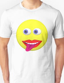 Smiley With Tongue Out T-Shirt