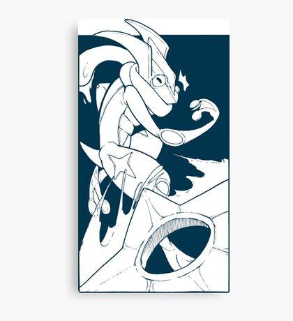 Greninja! Canvas Print