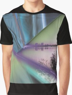landscape lake at sunset Graphic T-Shirt