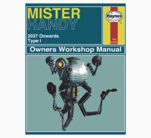 Mister Handy Haynes Manual Kids Tee