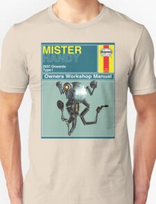 Mister Handy Haynes Manual T-Shirt