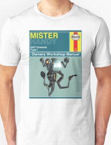 Mister Handy Haynes Manual Unisex T-Shirt