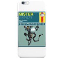Mister Handy Haynes Manual iPhone Case/Skin
