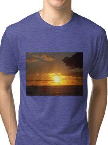 Sky Fire Tri-blend T-Shirt