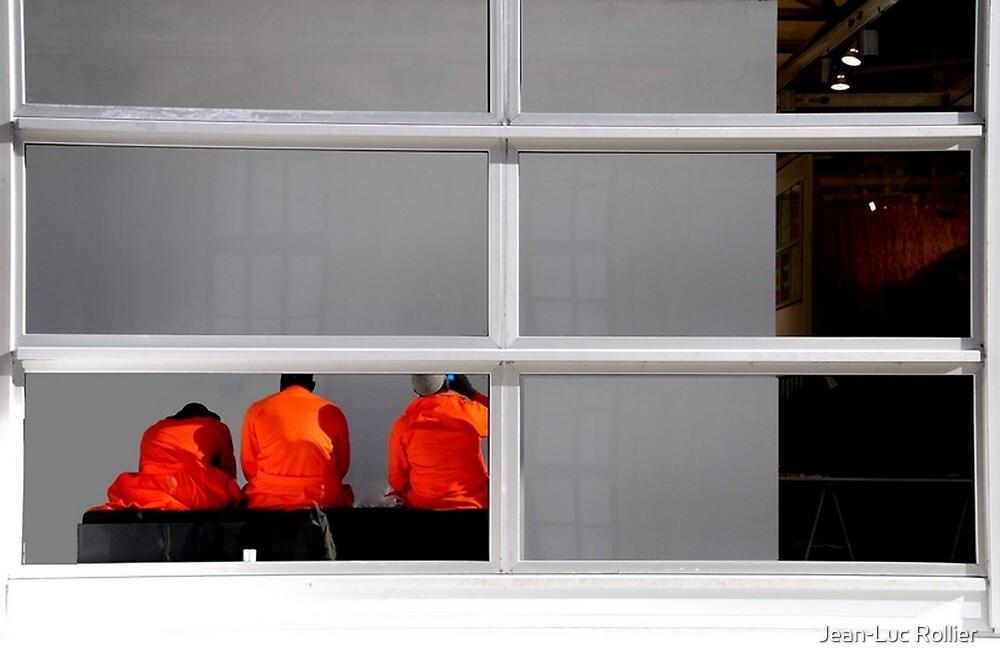 Paris - Three oranges... by Jean-Luc Rollier