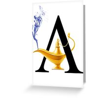 A For Aladdin! Greeting Card