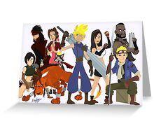 Final Fantasy 7: Complete Greeting Card