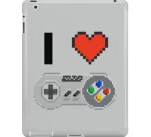 I Love Snes pixel iPad Case/Skin