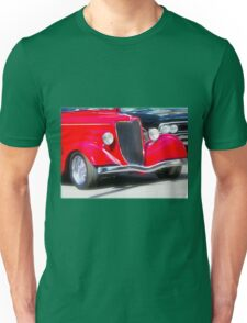 Vintage Red Car Unisex T-Shirt